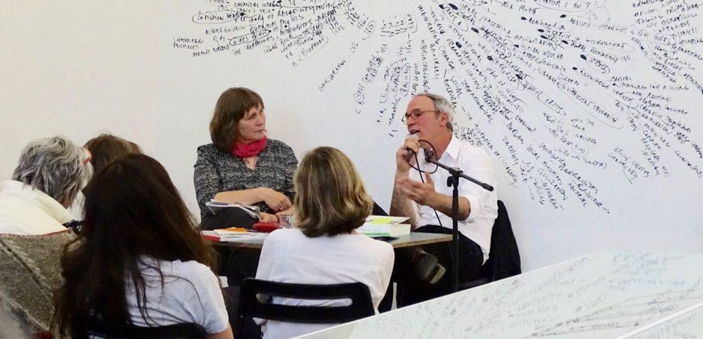 Monika Schröder im Gespräch mit Florian Waldvogel